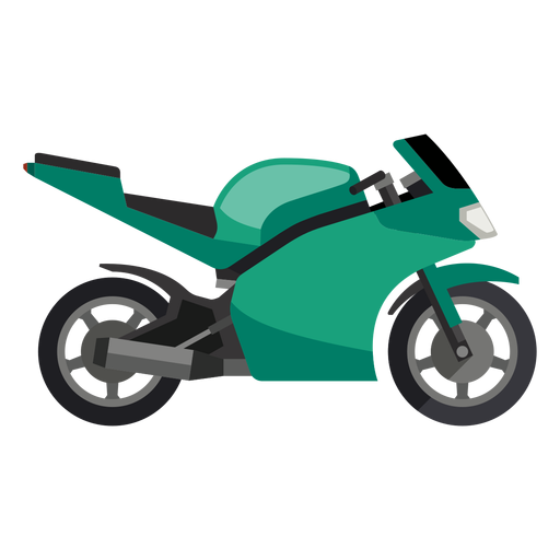 Motor vector sport motorcycle. Icon transparent png svg