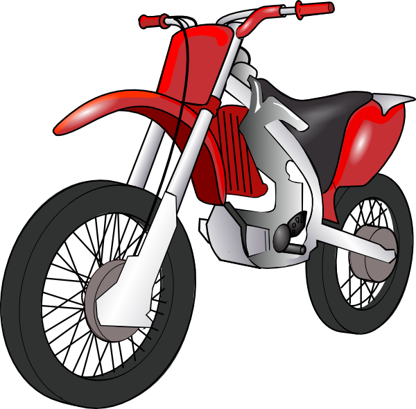 Motorcycle cartoon png. Technoargia motorbike opt clip
