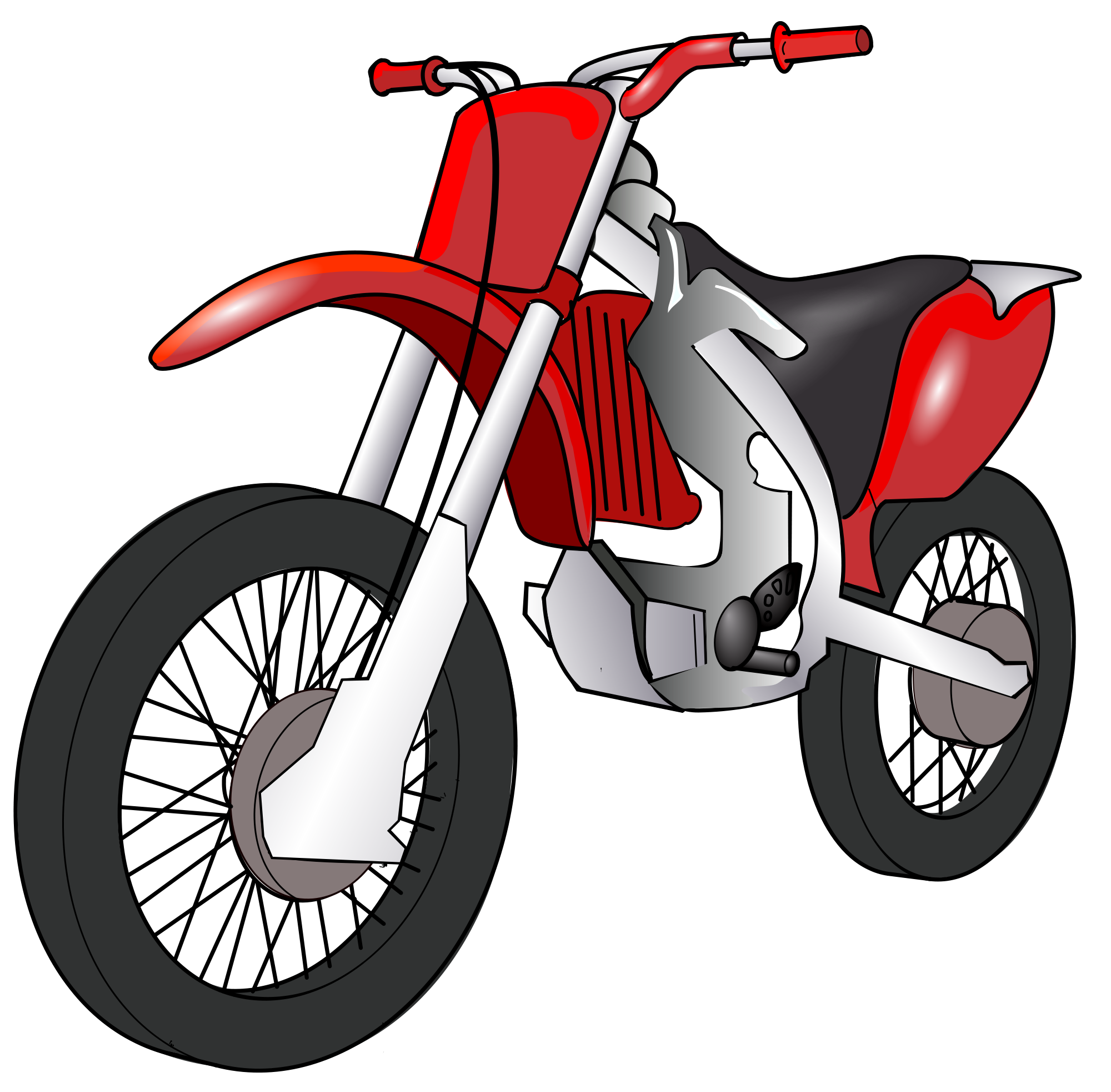 Motorcycle cartoon png. File motorbike svg wikimedia