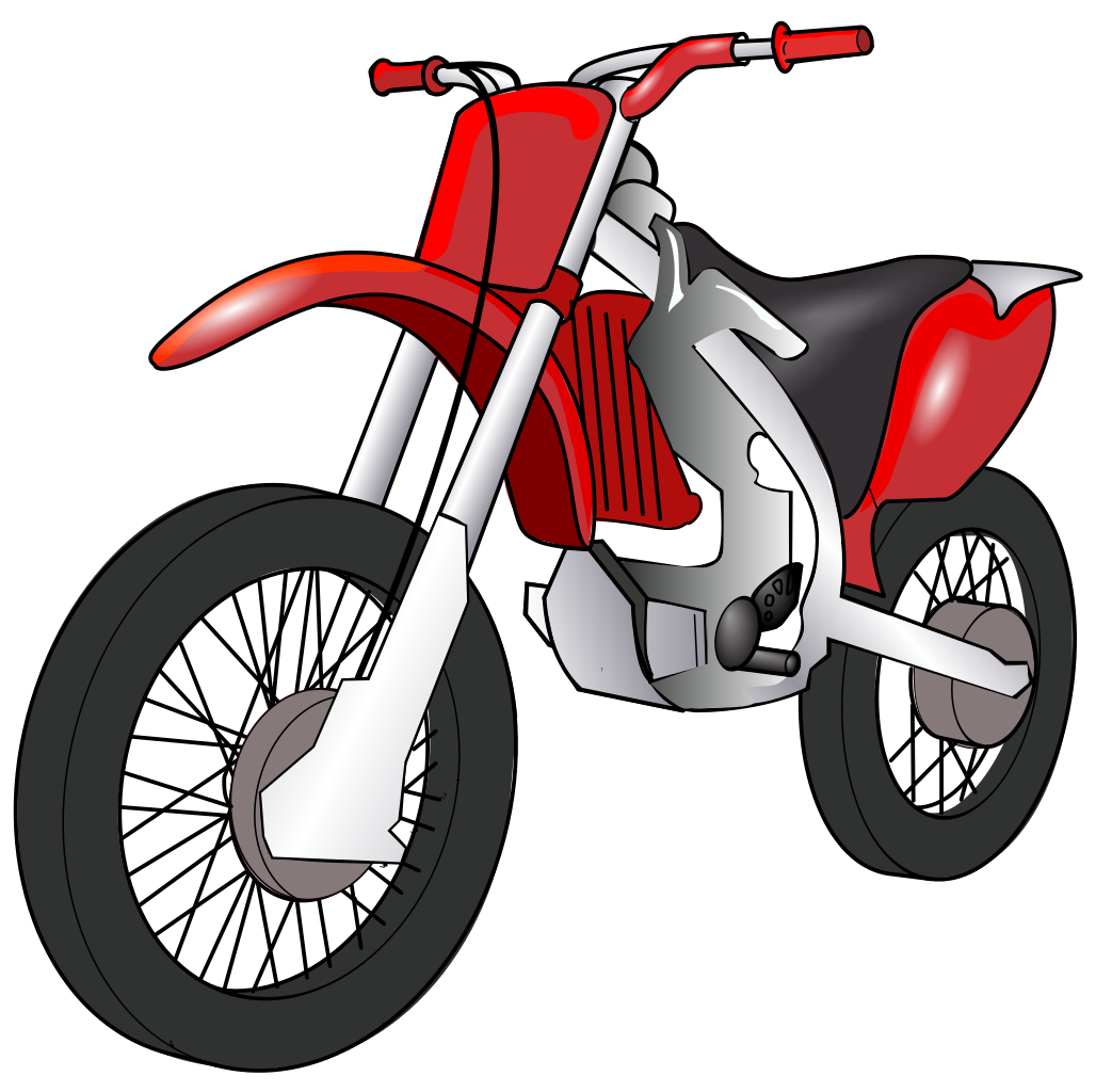 Transparent motorcycle clipart. File motorbike svg wikimedia