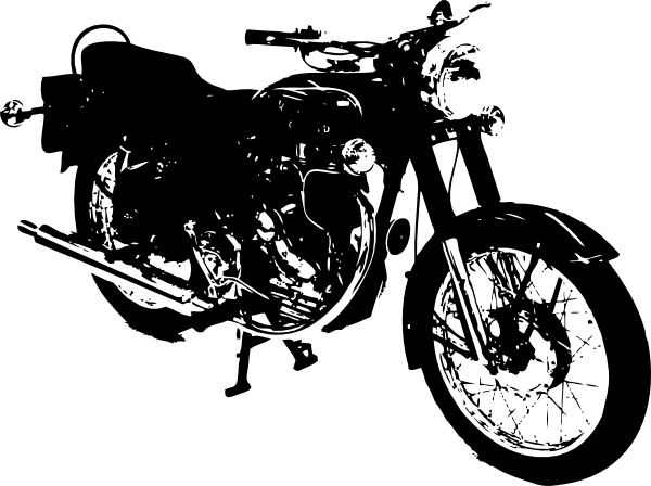 Motor vector old motorcycle. Harley clip art clipart