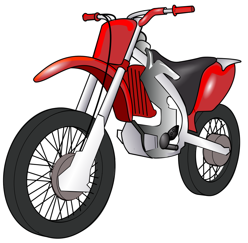 Motorcycle clipart two wheeler. Transparent for free