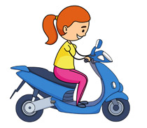 Motorcycle clipart. Free clip art pictures