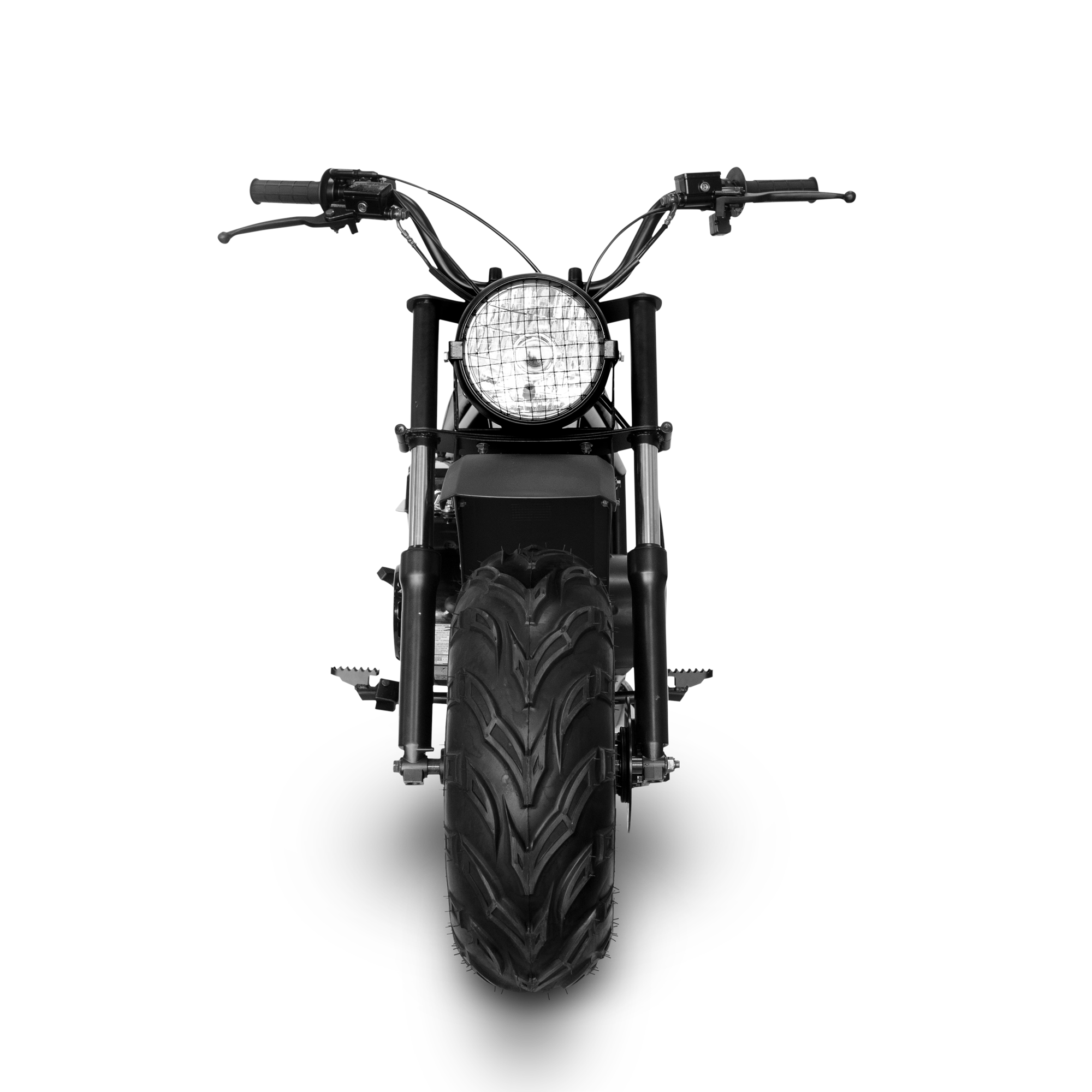 Motorcycle front png. Classic cc mini bike