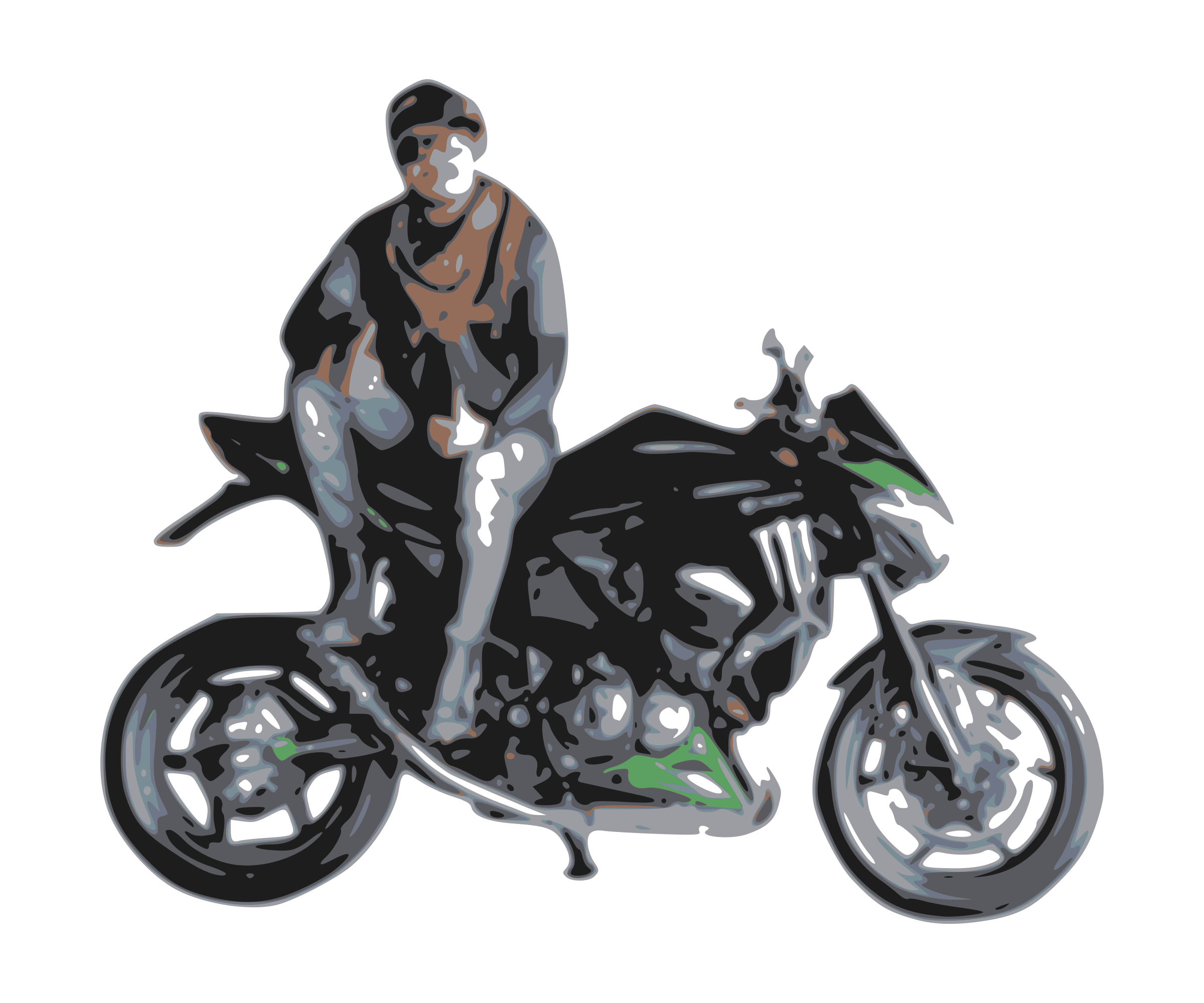 Motorcycle rider png. With icons free and