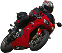 Motorcycle rider png. Advanced training courses and