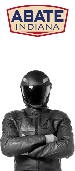 Motorcycle rider png. Abate of indiana course