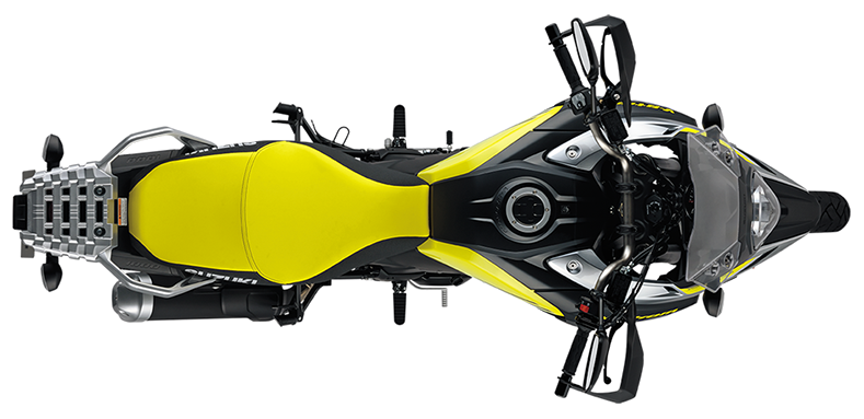 Motorcycle top view png. V strom to meet