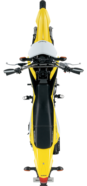 Motorcycle top view png. Suzuki planning dr dual