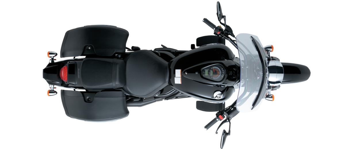 Motorcycle top view png. Boulevard c t specifications