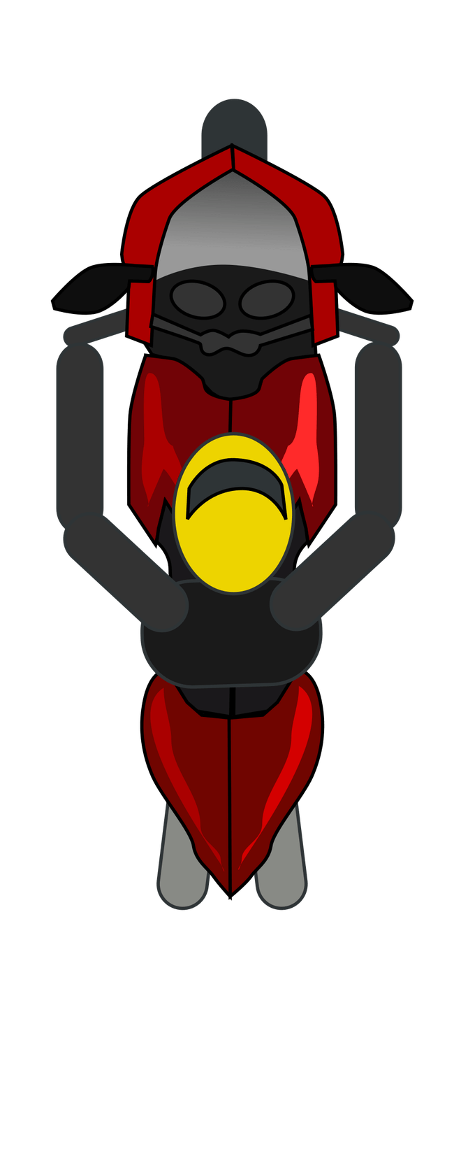 Motorcycle top view png. Clipart disrespect st com