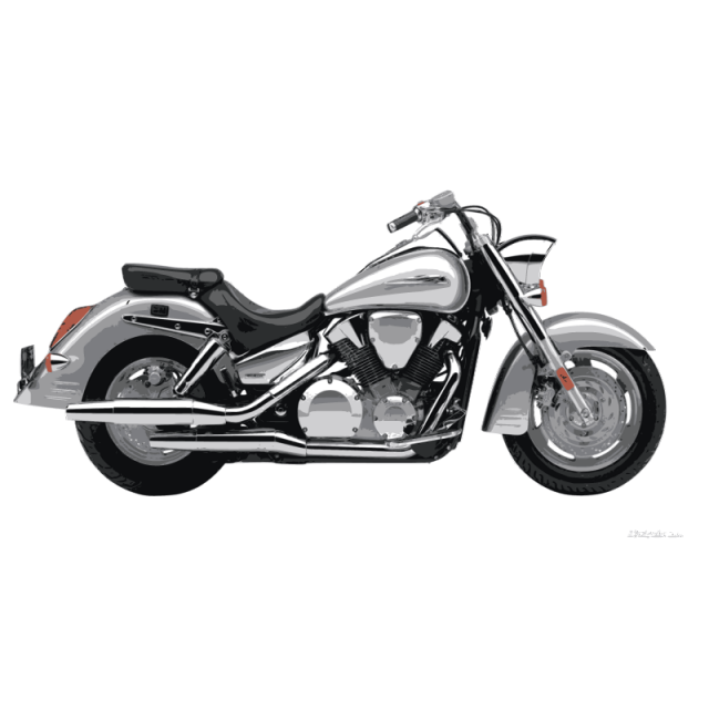 Vector motorcycles cruiser motorcycle. Motorbike realistic illustration classical