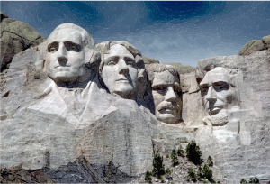 Mount rushmore clipart. National memorial small image
