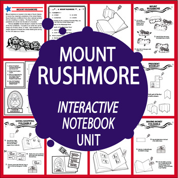 Mount rushmore clipart activity. Activities teaching resources teachers
