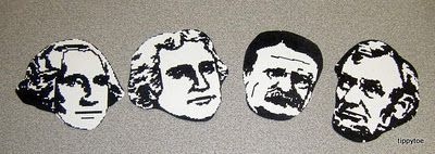 Mount rushmore clipart craft. Best for kids