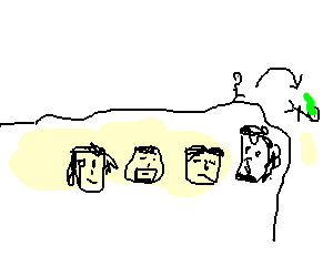 Mount rushmore clipart drawing. Puking while jumping on