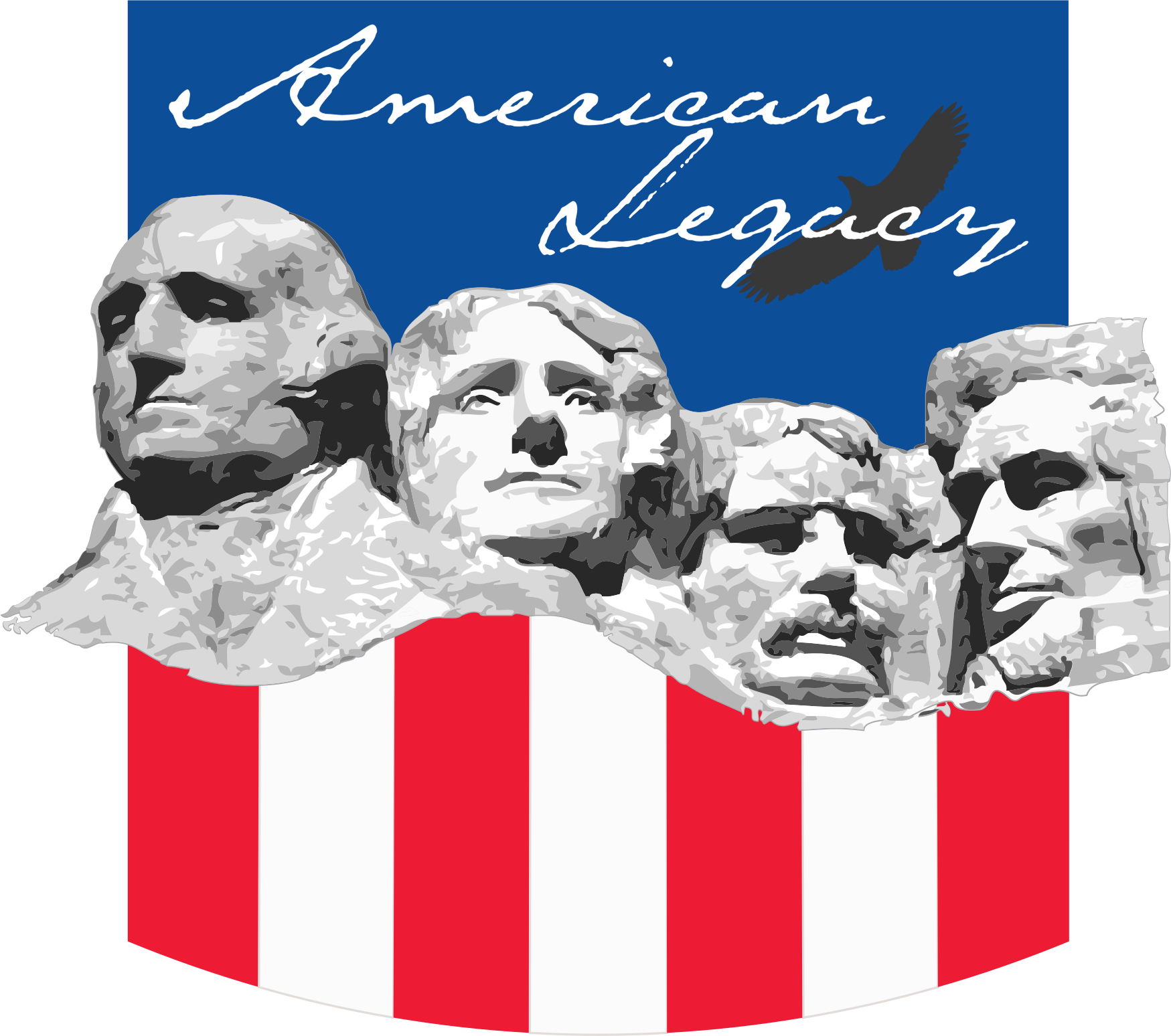 Mount rushmore clipart model. American legacy mt icons