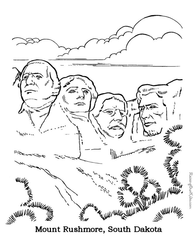 Mount rushmore clipart national parks. Best images on
