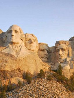 mount rushmore clipart national parks