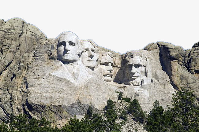 Mount rushmore clipart national parks. United states rock famous