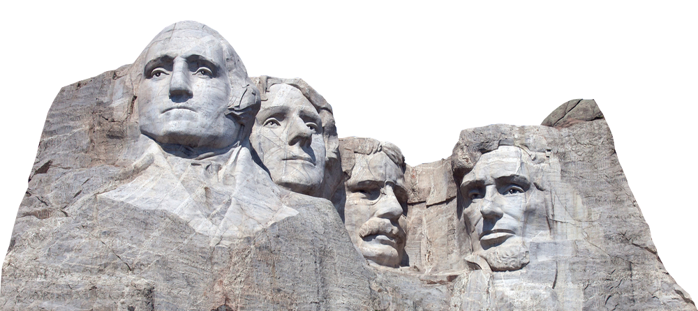 Mount rushmore clipart sculpture. Mt png transparent images