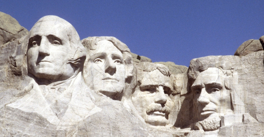Mount rushmore clipart sculpture. South dakota thomas jefferson