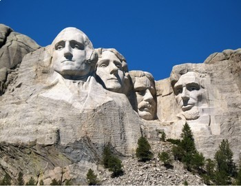 Mount rushmore clipart sculpture. Free presidents day printable