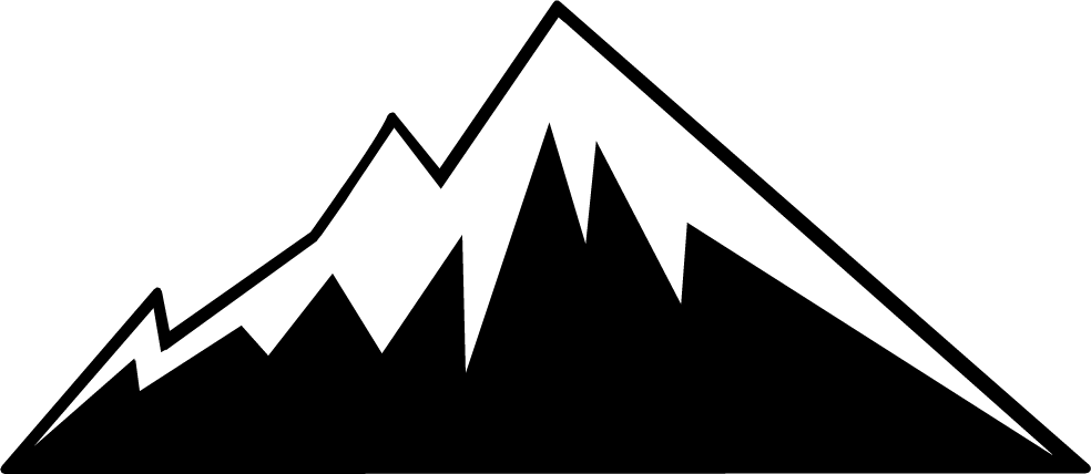 Mountains silhouette png. Mountain clip art clipart