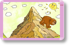 Mountains clipart bear. Mightybook the went over