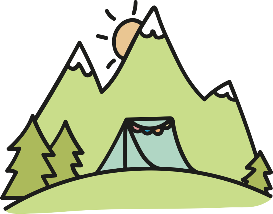 Cottage clipart campground. Wedding invitation camping tent