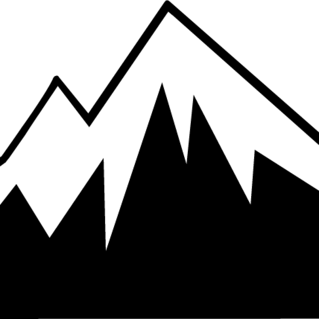 Mountain clipart silhouette. Clip art free download