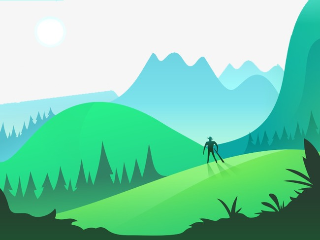 Mountain clipart terrain. Vector background png image