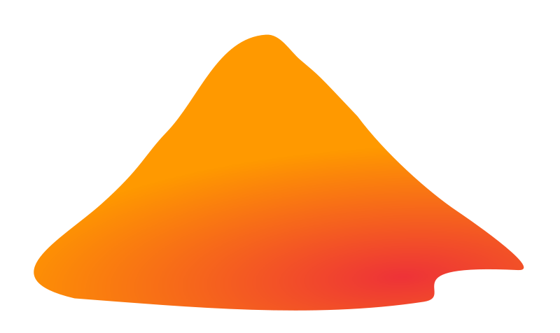 And mountains . Volcano clipart svg library download