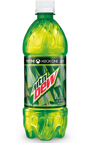 mtn dew bottle png