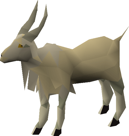 Mountain goat png. Image old school runescape