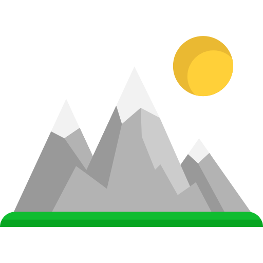snow svg hills png