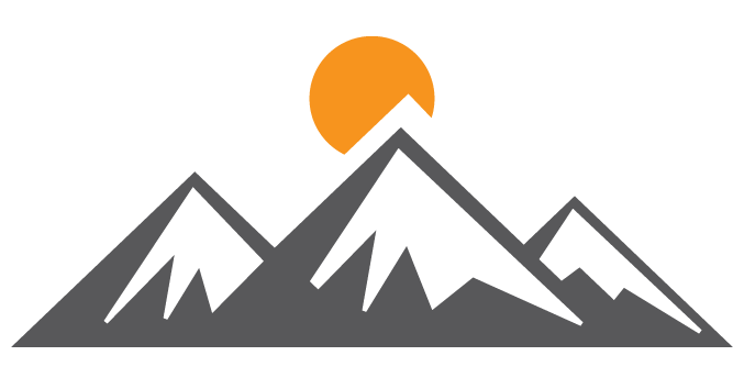 moutain vector minimalist