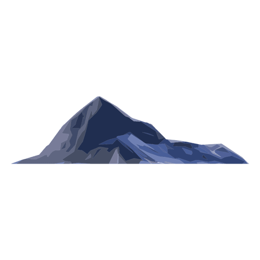 Mountain peak png. Transparent svg vector
