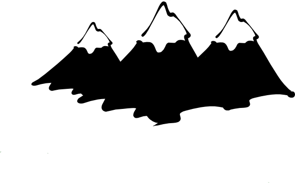 Cliff vector mountain goat. Peak silhouette at getdrawings