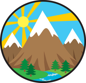 Mountains clipart. Image the panda free