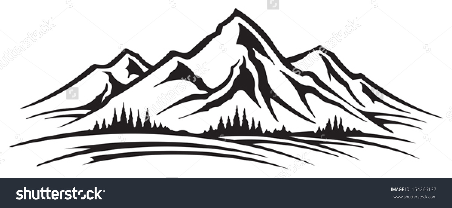 Mountains clipart abstract. Mountain images amazing wallpapers