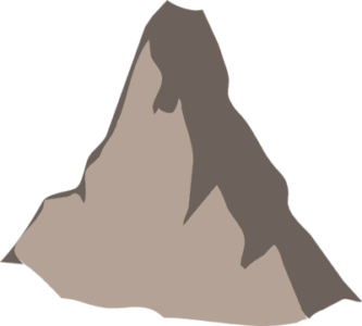 Mountains clipart animated. Cartoon mountain group with