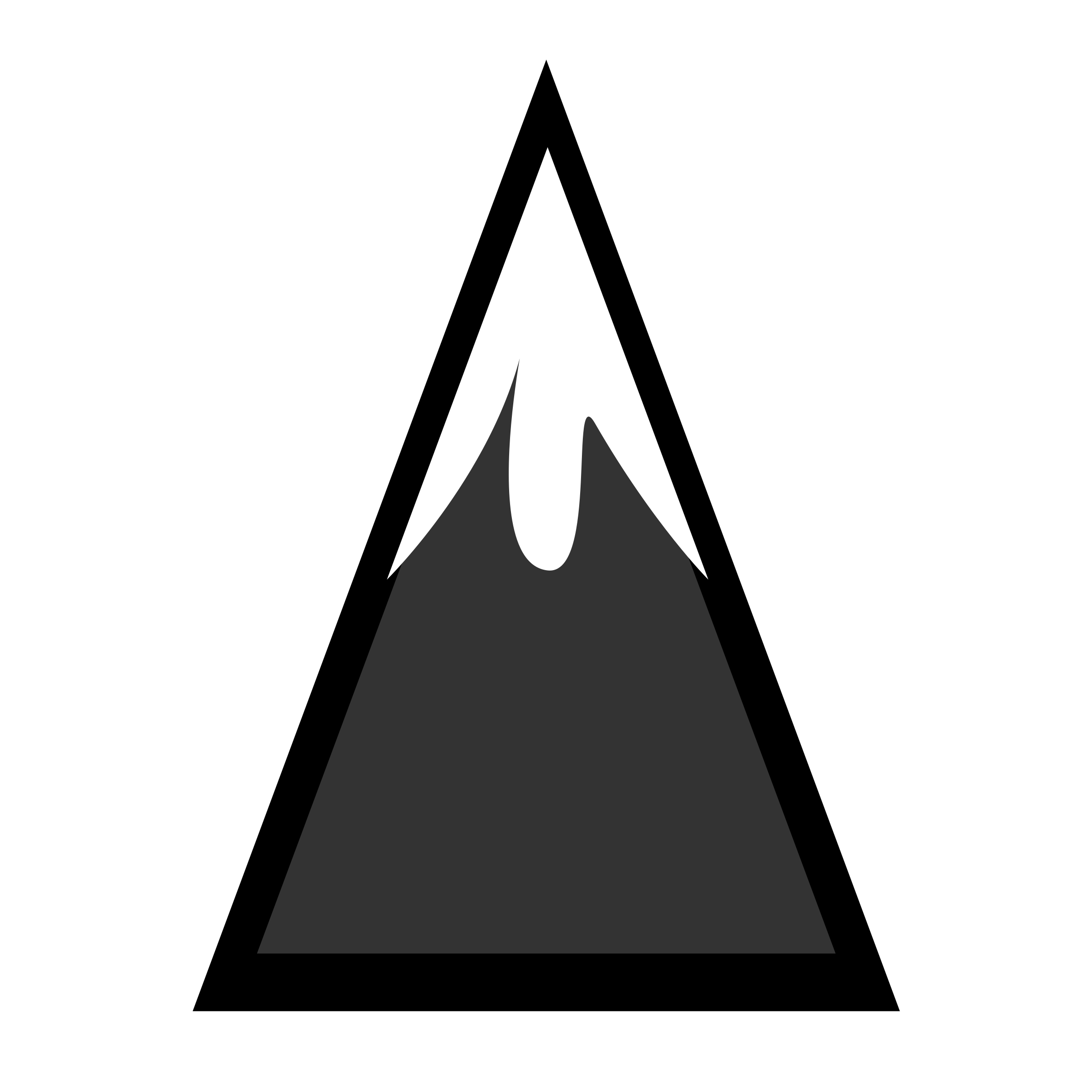 Mountains clipart icon. Snowcapped mountain icons png