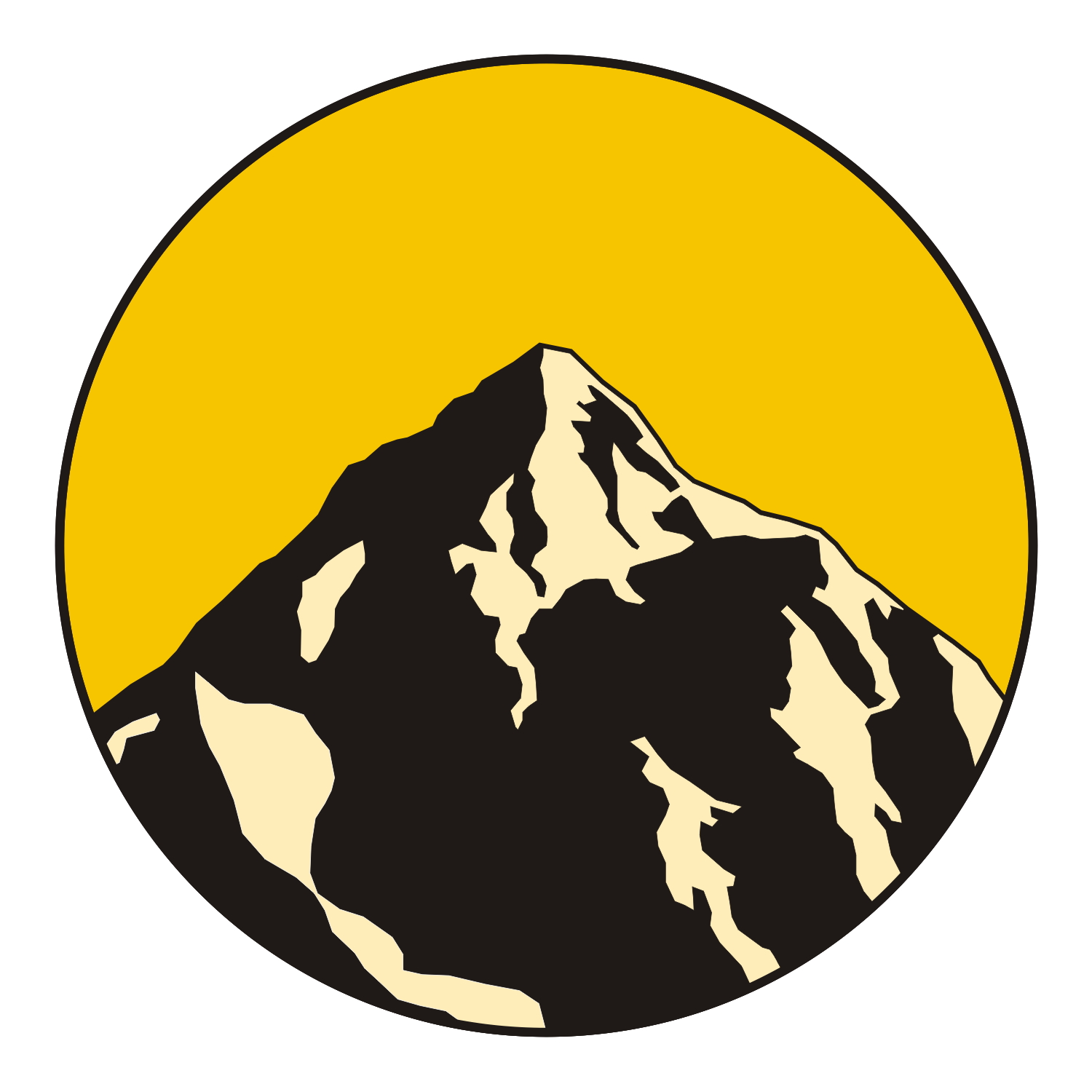 Mountains clipart logo. Mountain range at getdrawings