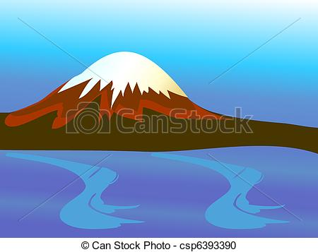 Mountains clipart ocean. Mountain with peak and clip library download