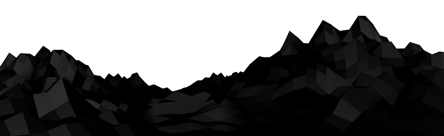Vector hills mountain terrain. Silhouette transparent at getdrawings
