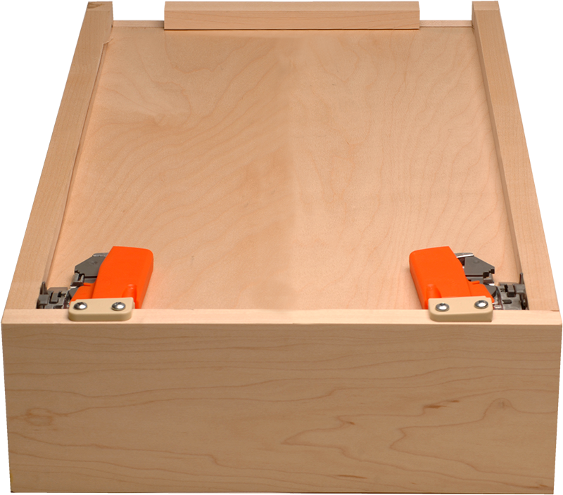 Mounting clip drawer. Blum box release clips