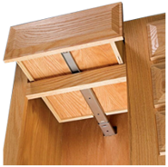 Mounting clip drawer. Slides largest selection of