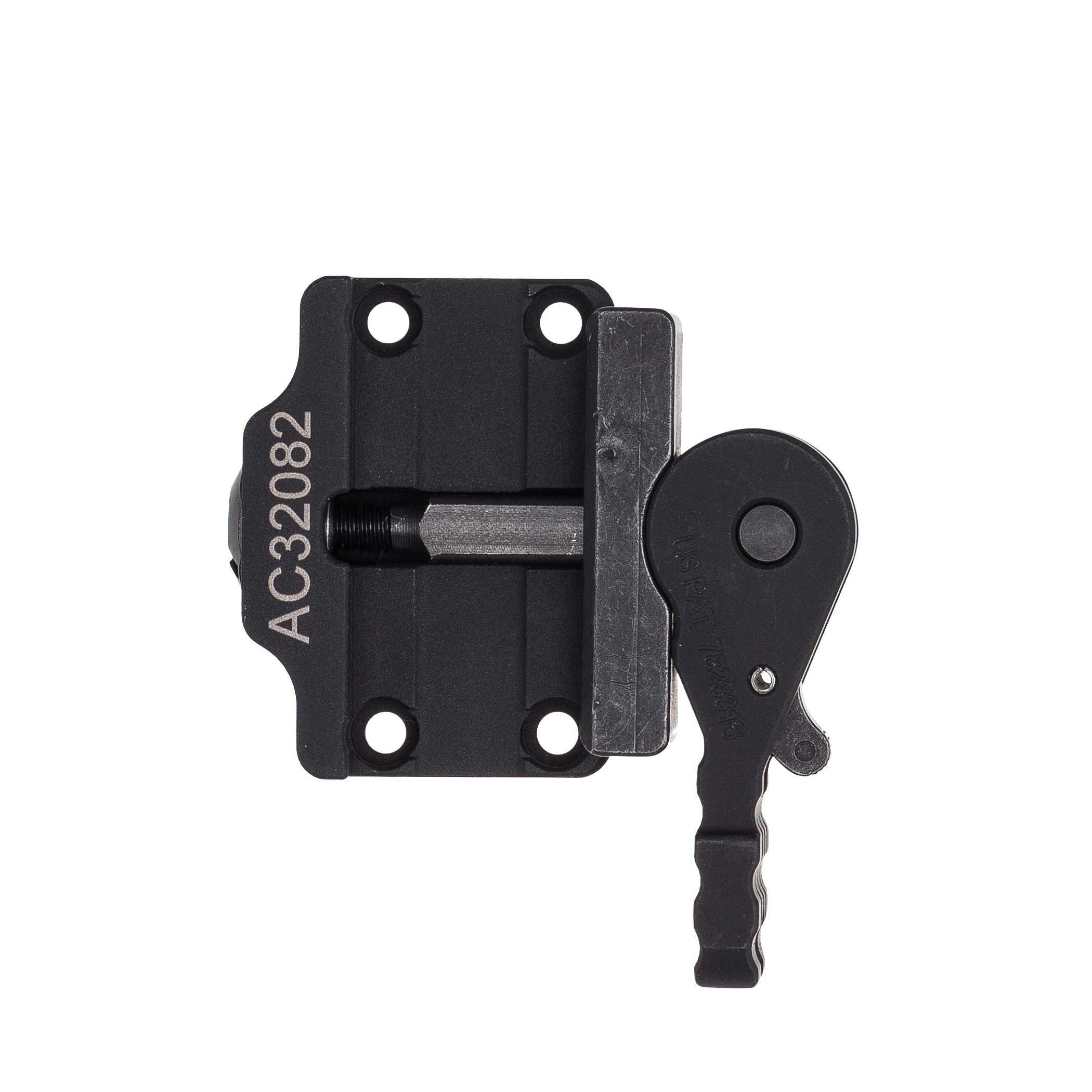 Mounting clip quick release. Trijicon mro levered low