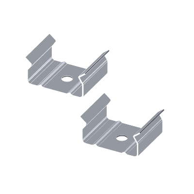 Mounting clip stair. Luxlinear normal ledconn comes